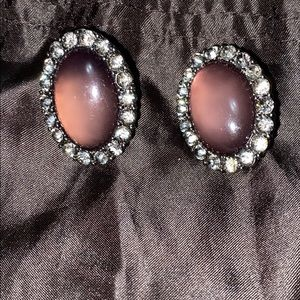 Gorgeous clip on earrings